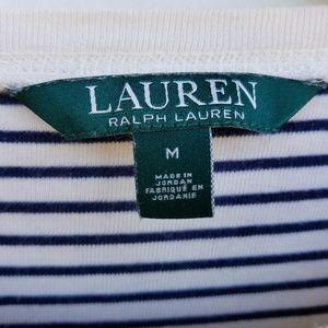 Lauren Ralph Lauren Tops - Lauren RL long-sleeved tee S navy/cream equestrian